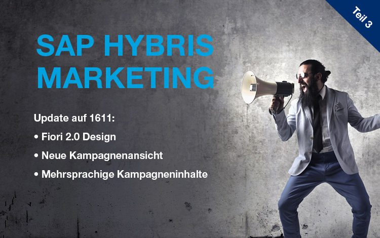 SAP Hybris Marketing Update 1611